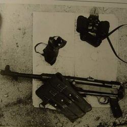 Late MP40 with sling undone