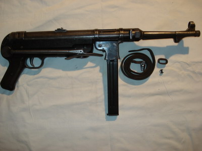 MP40 with sling taken off